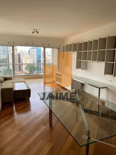 Apartamento Para Locação No Bairro Pinheiros Em São Paulo - Cod: Ja16499 - Ja16499