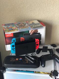 Nintendo Switch, Control Y 3 Juegos