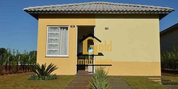 Casa Com 2 Dormitórios Para Alugar, 46 M² Por R$ 600/mês - Cristo Redentor - Ribeirão Preto/são Paulo - Ca0804