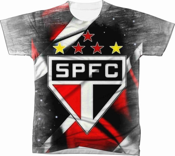 Camiseta Camisa Blusa São Paulo Futebol 008