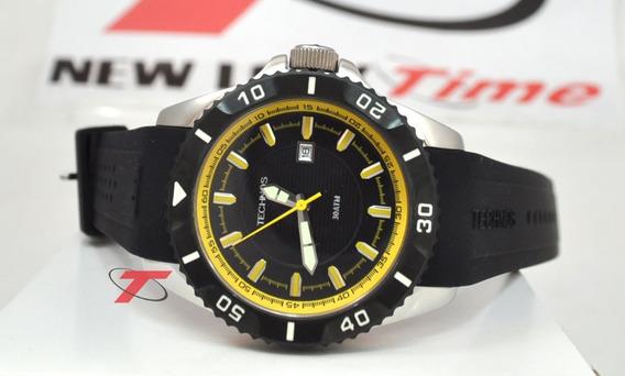 Relógio Technos Acqua Performance 2115kma/8p *scuba Diver 30