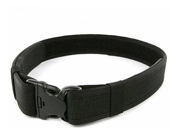 Cinturon Tactico Militar Asalto Reforzado Nylon 2 Uso Rudo
