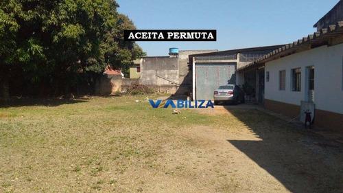 Terreno À Venda, 1548 M² Por R$ 2.500.000,00 - Jardim Cocaia - Guarulhos/sp - Te0039
