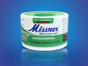 Micropore Branco - 2,5cmx10m Missner - ( Kit 12 Unidades)