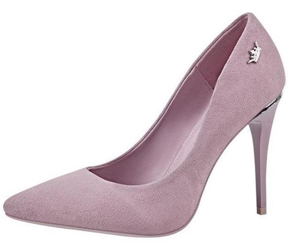 Zapatilla Queen Paris Hilton Fashion Look Durazno 184929