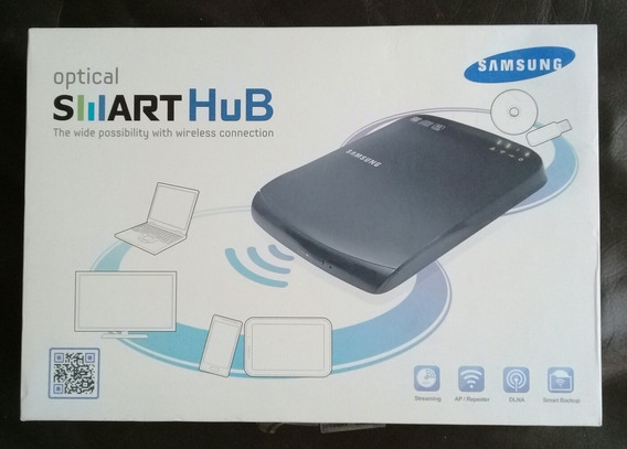 Samsung Smarthub Quemador De Dvd Y Cd Portatil Wifi Stream