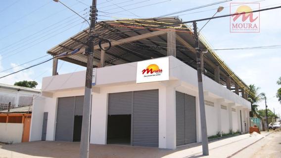 Galpão Comercial Para Venda E Locação, Jardim Felicidade, Macapá. - Ga0017