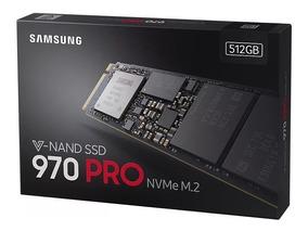 Ssd Samsung 970 Pro 512gb Nvme M.2 Mz-v7p512bw.