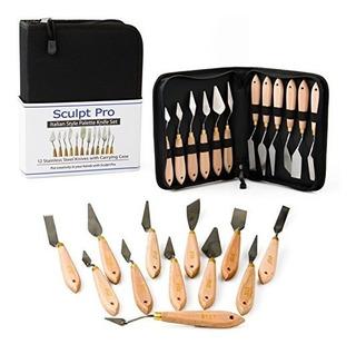 Cuchillo De Pintura Paleta Set 12 Cuchillos De