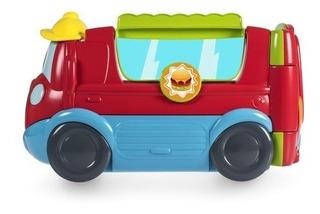 Brinquedo Didatico Infantil Lindo Food Truck Chicco Bilíngue