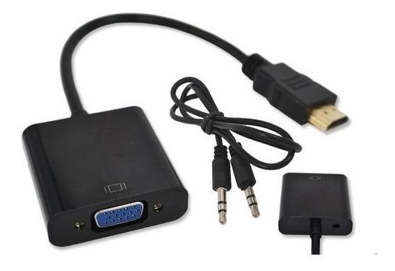 Cabo Adaptador Conversor Hdmi Para Vga Tv Xbox One Ps3