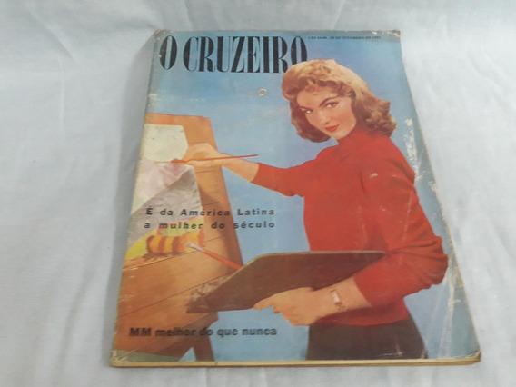 O Cruzeiro 28/09/57 Marilyn Monroe/alagoas/