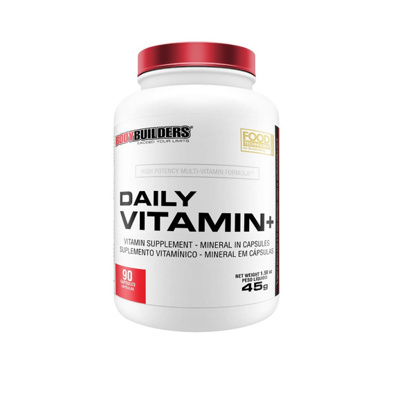 Daily Vitamin Plus 90 Cápsulas Bodybuilders