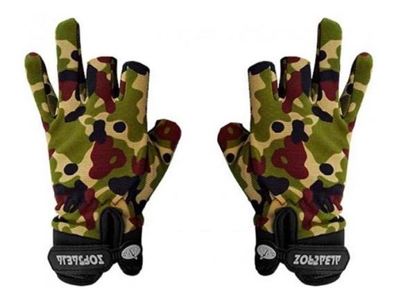Luva Tatica Sniper Sensitive Camuflada - Albatroz.