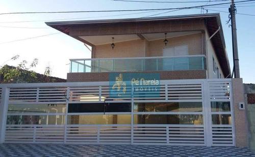 Imagem 1 de 11 de Casa Com 2 Dormitórios À Venda, 52 M² Por R$ 240.000,00 - Maracanã - Praia Grande/sp - Ca0193