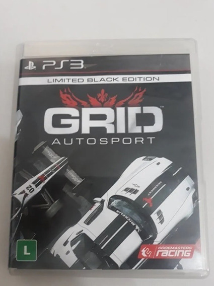 Grid Autosport Ps3 Mídia Física Cd Original