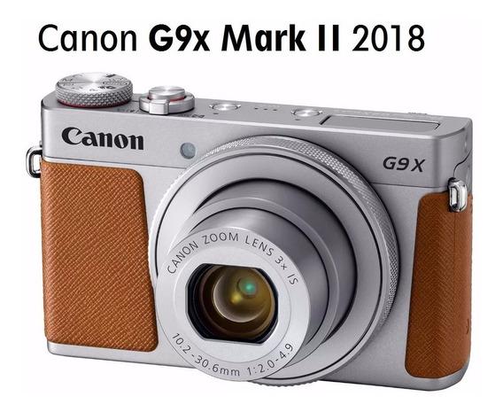 Canon Powershot G9x Mark Il Cartão 8gb, Mark Garantia 1 Ano