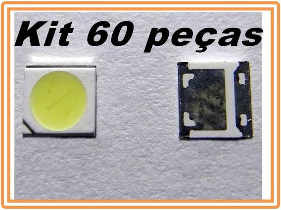 Led Backlight Para Tv 3535 6v 2w 100% Original Kit 60 Leds