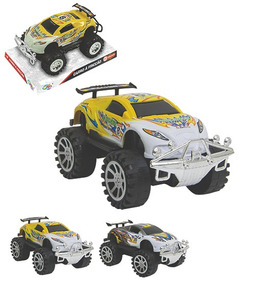 Carro A Friccao Tunado Possantes Challenger Colors Wellkids