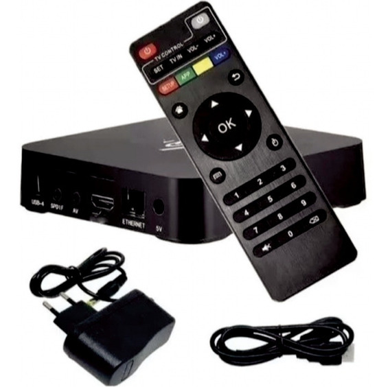 Conversor Smart Tv Box 4gb Ram 32gb Android 9 Mx 4k Hevc
