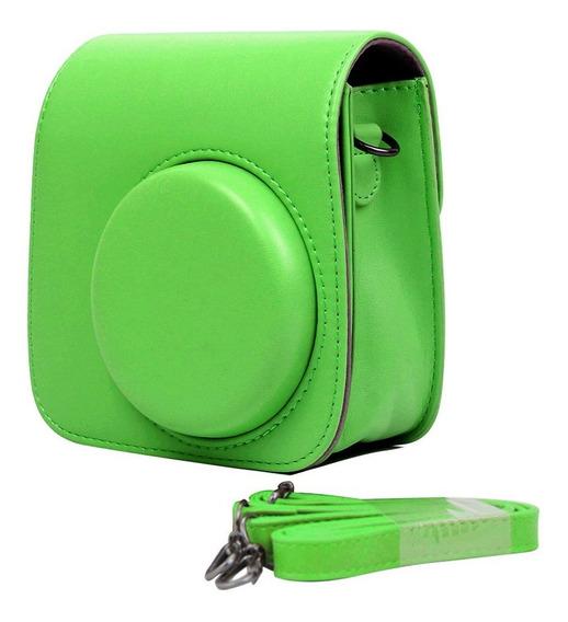 Bolsa Couro Sintético Com Alça - Câmera Instax Mini 7 8 9