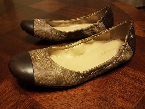 Zapatos Flats Coach Originales