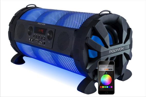 Caixa Som Bluetooth Bazuka Xb650 Polyvox 200w Fm Usb