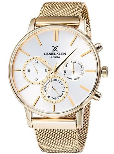Relógio Analógico Daniel Klein Exclusive Dk11857-6 Masculino