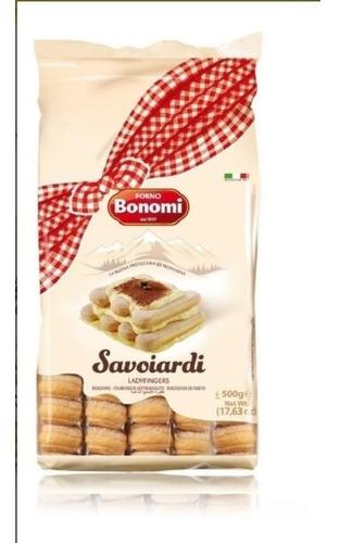 Savoiardi Bonomi 500 Grs (galletas Soletas)