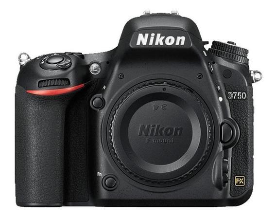 Câmera Nikon D750 Dslr Barata + Bolsa + Cartão Memoria