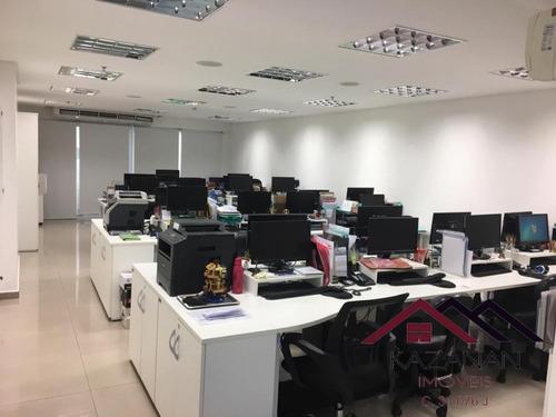 Sala Comercial - Edifício Tribuna Square - 2 Vagas De Garagem - Santos - 3233