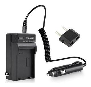 Kit De Cargador De Viaje Kastar Para Panasonic Dmw-bch7, Dmw