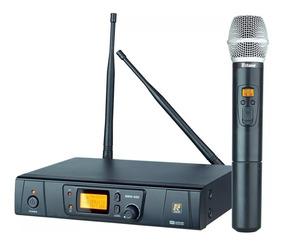 Microfone Sem Fio Staner Mão Srw48s/ht-48