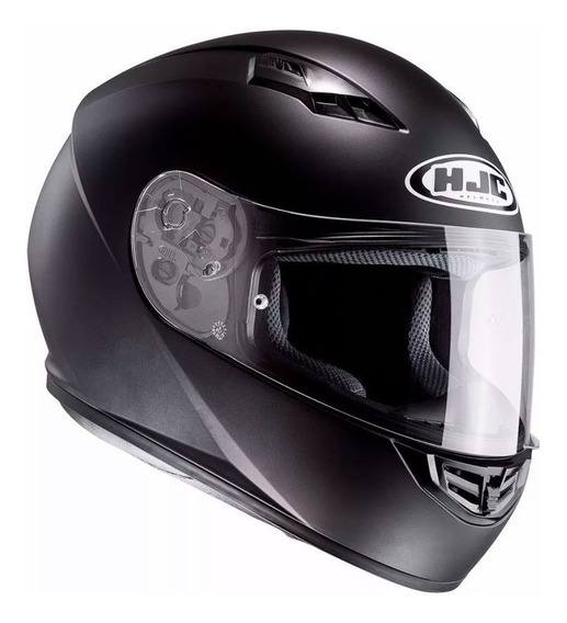 Casco Hjc Cs15 Integral Pista 2019 Negro Mate - Sti Motos