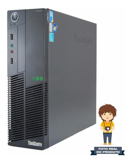 Cpu Lenovo Intel Core I3, 3.2hz, 4gb, 250gb Monitor 17
