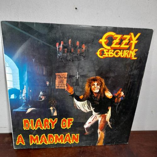 Imagem 1 de 7 de Vinil Lp Ozzy Osbourne Diary Of A Madman Bom Estado