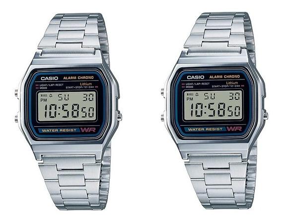Paquete De 2 Relojes Casio Retro A158w Envio Gratis|watchito