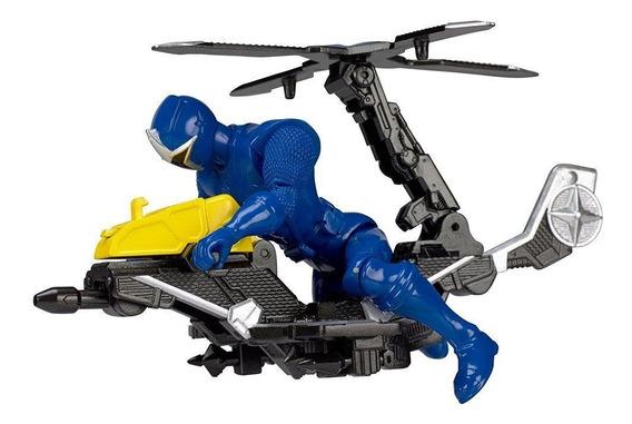 Power Rangers Ninja Steel Helicóptero Transforma Com Ranger