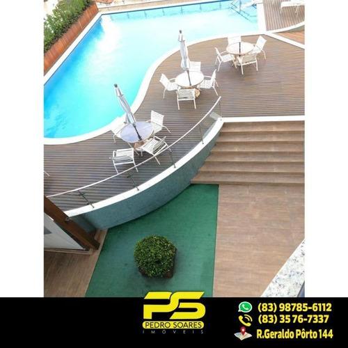 Apartamento Com 4 Dormitórios À Venda, 318 M² Por R$ 1.450.000 - Manaíra - João Pessoa/pb - Ap1802