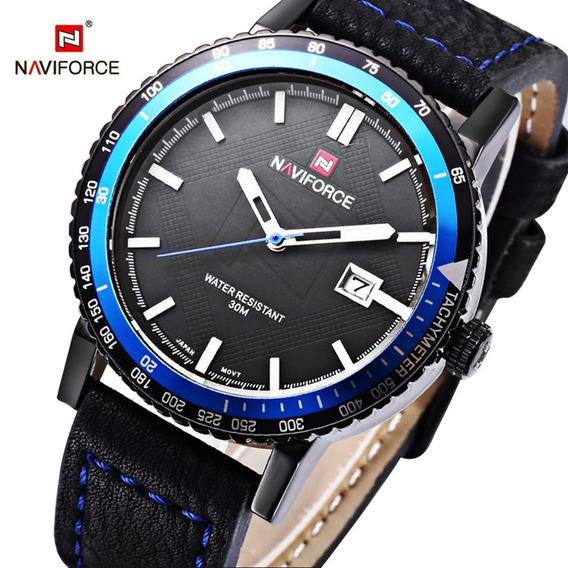 Relógio Naviforce Azul + Promoção