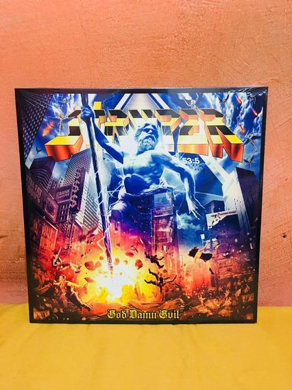 Lp Stryper - God Damn Evil 2018 Lacrado
