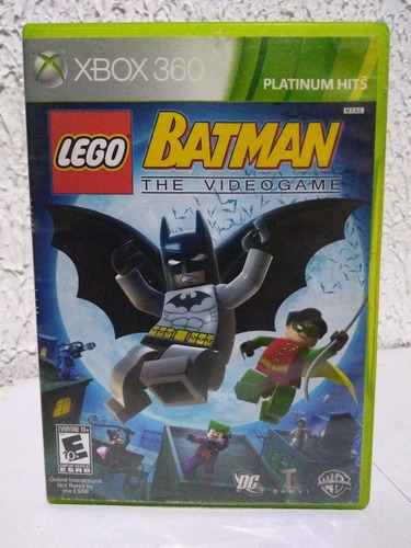 Jogo Lego Batman The Vídeo Game Xbox 360 Física R$79,90
