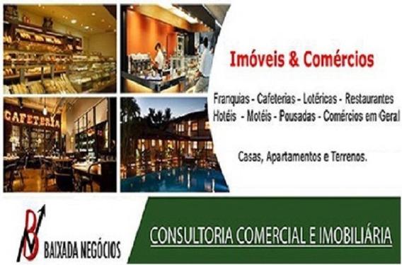 Restaurante Grill Em Shopping Gonzaga Gar Lucro Liq 15mil No