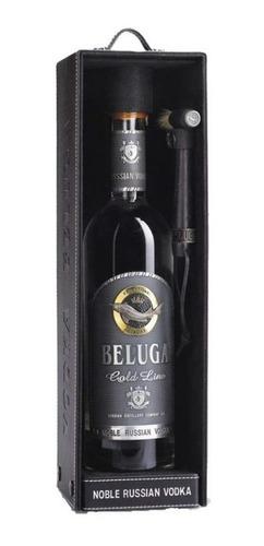 Imagen 1 de 3 de Vodka Beluga Gold Line, 700 Ml.