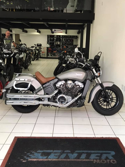 Indian Scout Cinza 2016