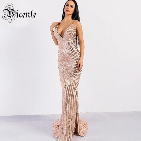 Vestido Largo De Fiesta (gran Gala)