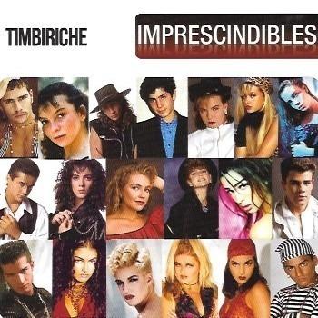 Cd Timbiriche Imprescindibles Thalia Paulina Rubio Erik Rubí
