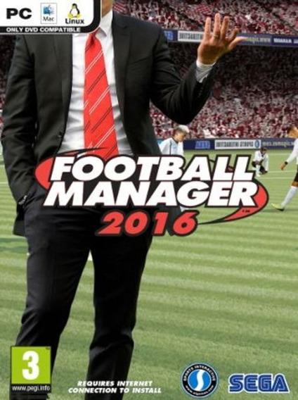 Football Manager 2016 Pc Original Frete Gratis !!