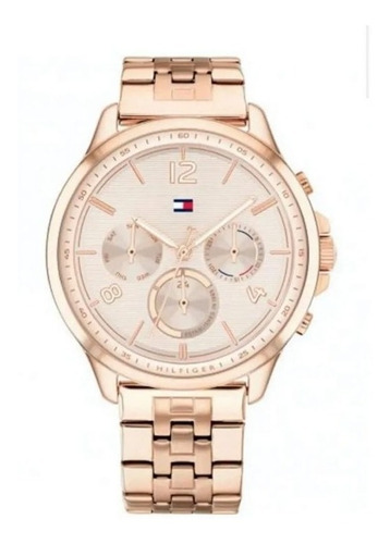 Reloj Tommy Hilfiger De Dama Rose Multifunción 1782224