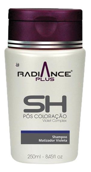 Shampoo Matizador Violeta Rad.plus 250 Ml